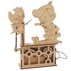 DIY Miniature 모터마타 피노키오 배터리 미포함