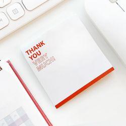 Thank you(땡큐) 포스트잇