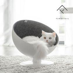 퓨리테일 고양이 강아지 반려동물 체어하우스 침대