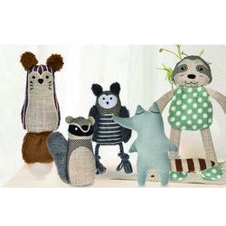 (봉봉펫닷컴) 새로운 친구들2 애견 봉제인형 장난감