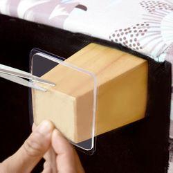 바닥 마루 가구 보호 투명 실리콘 패드 8p