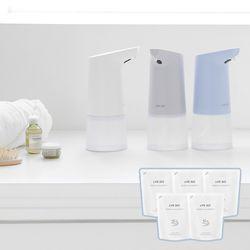 라이프썸 자동 거품 손세정기 (LFS-HA11) 블루+핸드워시 5EA