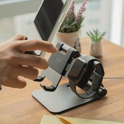 링케 슈퍼 폴딩 태블릿 갤럭시액티브 애플워치 스탠드 거치대