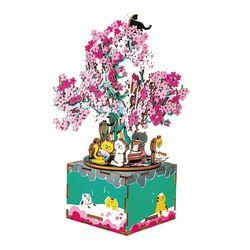 ROBOTIME 뮤직박스 벚꽃 Cherry blossom tree AM409