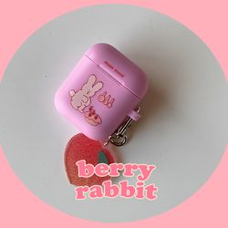 berry rabbit airpods case (에어팟케이스)
