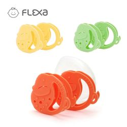FLEXA 플렉사 아기띠실리콘치발기2P(케이스포함)
