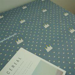 리틀크라운 테이블보(정사각 4인용) 105x105 (2color)