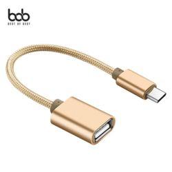 스피딕 메탈 C타입 USB OTG 젠더 데이터케이블 Type-C
