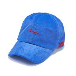 PARAGON CORDUROY BASEBALL CAP BLUE