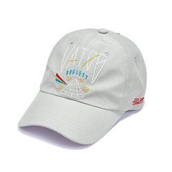 PYRAMID BASEBALL CAP GREY
