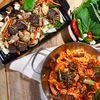 백순대 양념순대곱창볶음 1인분-신림동 원조맛집