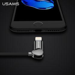 Usams 유삼스 터닝 클립 데이터케이블 5핀 아이폰8핀