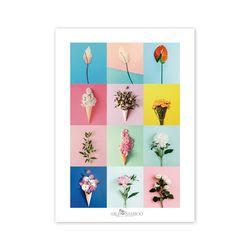 2020 달력 CALENDAR 37 Flower Series