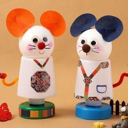 마우스미니스탠드만들기(4개)쥐모양만들기수면등