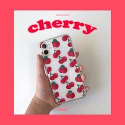 cherry (clear) 아이폰케이스