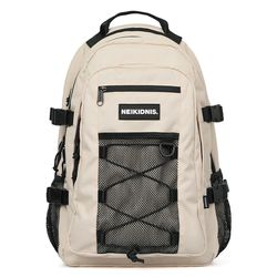 MESH STRING BACKPACK - LIGHT BEIGE