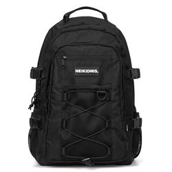 [예약판매 4/6순차배송] MESH STRING BACKPACK - BLACK