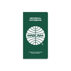 [PANAM] GENERAL NOTEBOOK GREEN