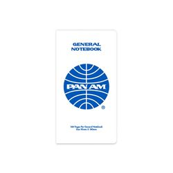 [PANAM] GENERAL NOTEBOOK WHITE