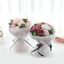 꽃다발 입학 졸업 기념일 선물  부케파스텔꽃다발