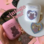 vintage bear airpods case (에어팟케이스)