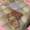 vintage bear key ring (키링)