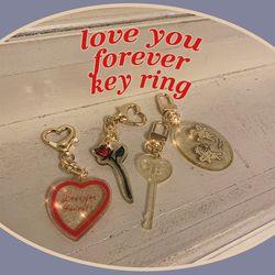 love you forever key ring (키링)