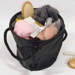 원형 메쉬 비치 가방