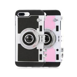 아이폰6 레트로 카메라 3D 스트랩 하드 케이스 P469