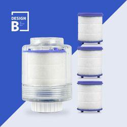 바스템 디자인비 녹물제거 세면대 본품+필터 3P SET