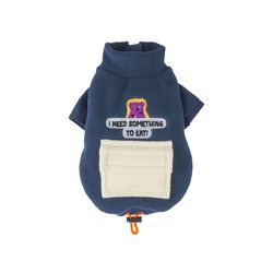 Alaska Crew Pocket Fleece Jacket Deep Navy