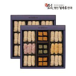 [무료배송] [식품명인 김규흔]한빛2단 선물세트