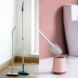 사계백서 욕실 타일 청소 브러쉬 2종 모음