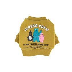 Alaska Crew Short MTM Top Mustard