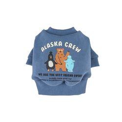 Alaska Crew Short MTM Top Ash Blue