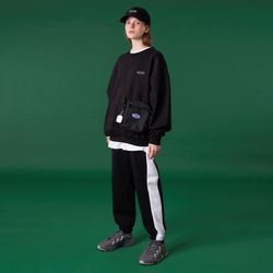 N Original small logo training pants-black