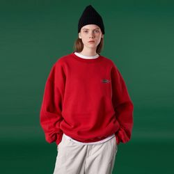 N Logo sweatshirt-red