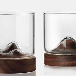 사계백서 위스키 컵 유리잔 2종 모음