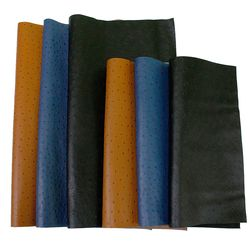 타조무늬 천연소가죽 재단가죽원단(40*50)