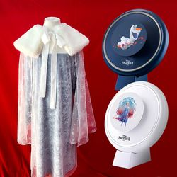 퍼키 겨울왕국 엘사 드레스 + 겨울왕국 공기청정기