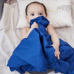 유아 무형광 오가닉 순면 담요 속싸개 이불 2세트