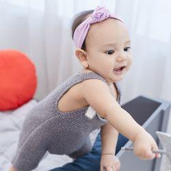 유아 아기 유기농 순면 유기농 헤어밴드 머리띠