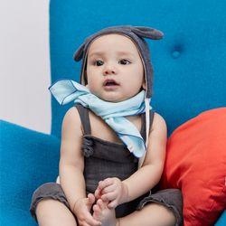 유아 아기 무형광 오가닉 순면 거즈 손수건 선물