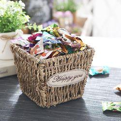 사탕바구니(사각) 화이트데이 사탕 캔디 선물