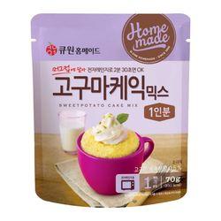 큐원 고구마케익믹스 70g (전자레인지용)