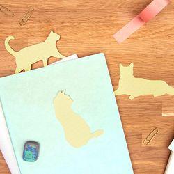 [썩유케이] 고양이 노트 메모잇 점착 메모지