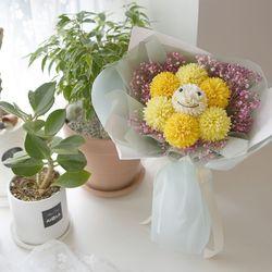 스마일 퐁퐁 꽃다발