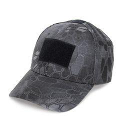 [네오 택티컬] 벨크로 베이스볼 모자 (스네이크 카모 블랙)