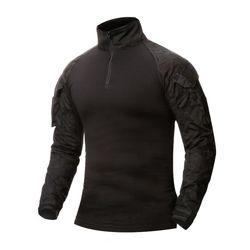 [네오 택티컬] 컴뱃 셔츠 (멀티카모 블랙)