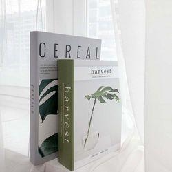 식물 감성잡지 모형책